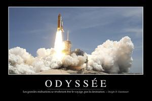 Odyssée: Citation Et Affiche D'Inspiration Et Motivation