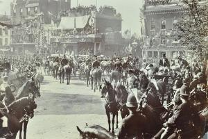 Official Opening of the Blackwall Tunnel, Poplar, London, 1897
