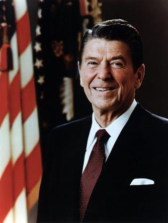 Official Portrait of President Reagan Taken on February 7 1981. Po-Usp-Reagan_Na-12-0060M