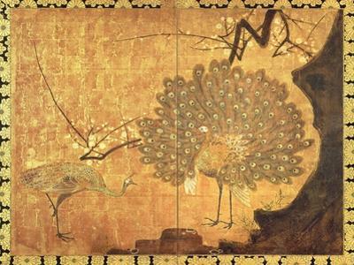 Peacocks, Edo Period