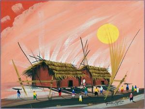 My Little African Home, 2008 by Oglafa Ebitari Perrin