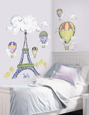 Oh La La Peel & Stick Wall Decal MegaPack