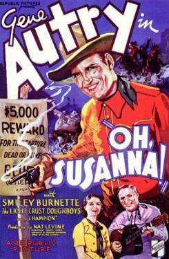 Oh, Susanna!, 1936