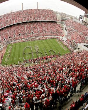 Ohio Stadium Ohio State University Buckeyes 2004