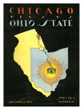 Ohio State vs. Chicago, 1922