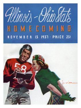 Ohio State vs. Illinois, 1937
