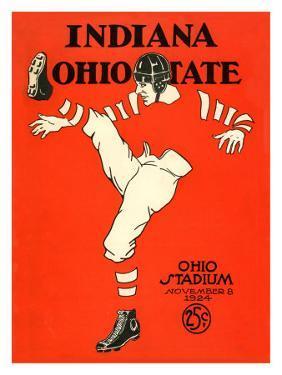 Ohio State vs. Indiana, 1924