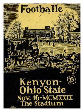 Ohio State vs. Kenyon, 1929