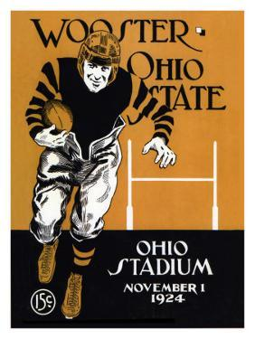 Ohio State vs. Wooster, 1924