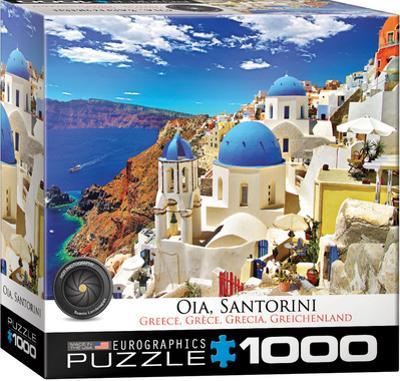 Oia Santorini Greece 1000 Piece Puzzle