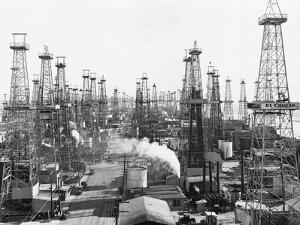 Oil Derricks in California