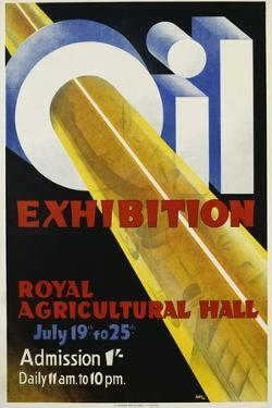 Oil Exhibition Poster