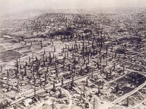 Oil Field Near Long Beach, Ca, 1925