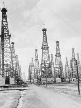Oil Fields in Texas