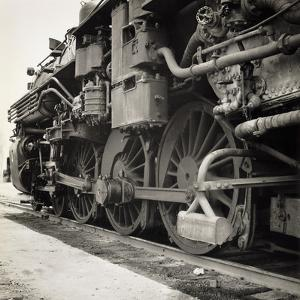 Oil Powered Southern Pacific Locomotive Wheels