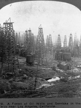 Oil Rigs Near Los Angeles, California