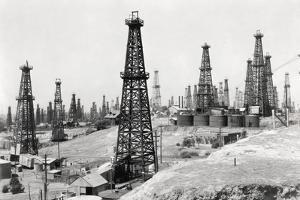 Oil Well Field