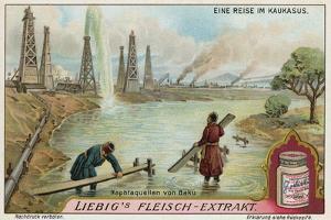 Oil Wells of Baku