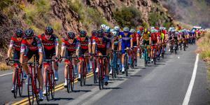 OJAI CALIFORNIA USA Amgen Stage 2 Mens Bicycle Tour of California, VENTURA TO GIBRALTAR ROAD AT...