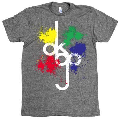 Ok Go - Tall Logo Splat