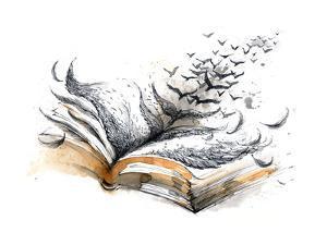 Ancient Book by okalinichenko