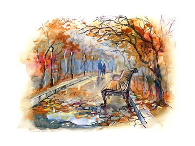 Autumn Park by okalinichenko