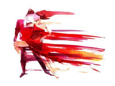 Dancing Couple by okalinichenko