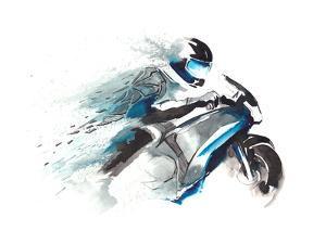 Motorcycle Racer by okalinichenko