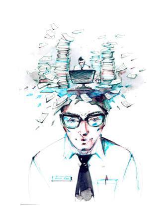 Office Worker by okalinichenko