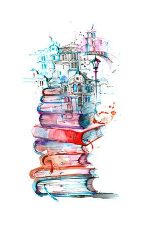 Reading City by okalinichenko