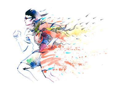 Sports Running by okalinichenko