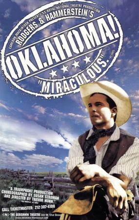 Oklahoma - Broadway Poster