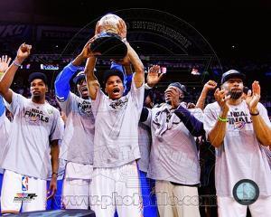 Oklahoma City Thunder with the 2012 NBA WCFC Game Six