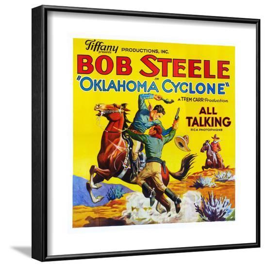 Oklahoma Cyclone--Framed Art Print