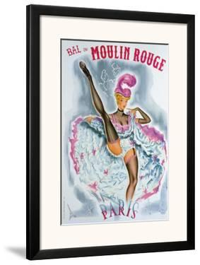 Bal du Moulin Rouge, French Cancan by Okley