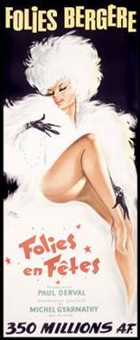 Folies-Bergere, Cabaret Dance Theater by Okley