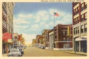 Okmulgee Avenue, Muskogee