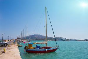 Zakynthos, Greece, Sea Port by Okssi
