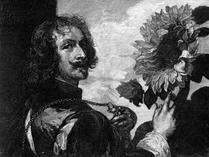 Anthony Van Dyck, Self-Portrait with a Sunflower, C1633-1641 by OL Lacour