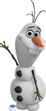 Olaf - Disney's Frozen Lifesize Standup