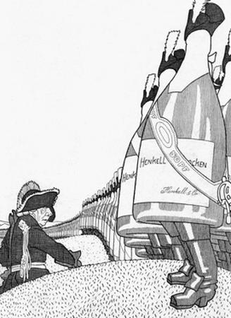 Advert, Henkell Champagne