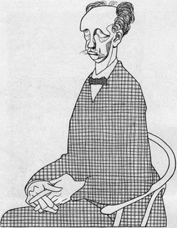 Caricature of Richard Strauss