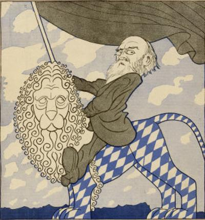 Kurt Eisner I, Eisner Rides the Lion Triumphantly Having Organized the Munich Revolution