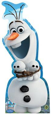 Olaf Hugging Snowgies - Frozen Fever Lifesize Standup