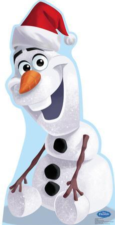 Olaf Santa Hat - Disney's Frozen Lifesize Standup
