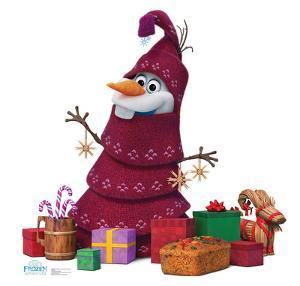 Olafs Frozen Adventure - Olaf Knitted Tree