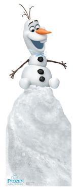 Olafs Frozen Adventure - Olaf on Snow Mound