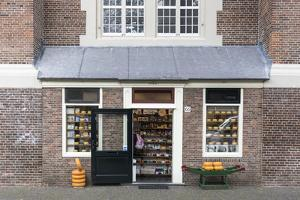 The Netherlands, Holland, Amsterdam, cheese shop by olbor