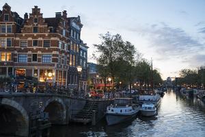The Netherlands, Holland, Amsterdam, Prinsengracht corner Brouwersgracht by olbor