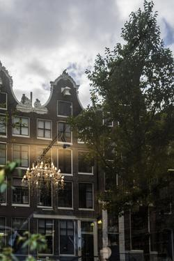 The Netherlands, Holland, Amsterdam, shop window, reflexions, by olbor
